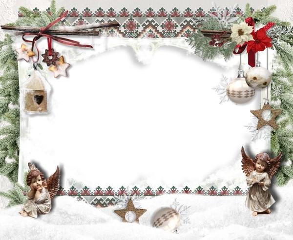 Різдвяна рамка для фото