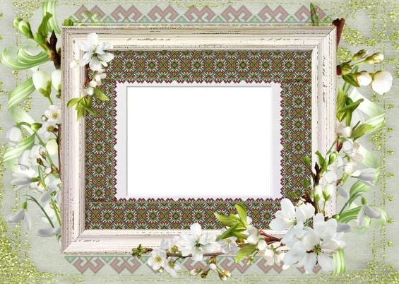 Фоторамка - Весняна вишиванка
