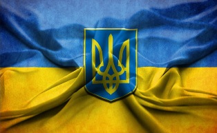 Анімаційна шпалера на робочий стіл - Прапор України