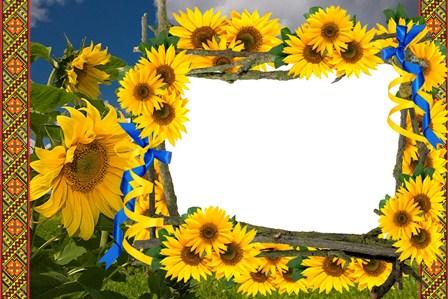 Рамка - Соняшники