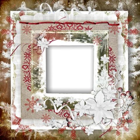 Рамка для фото - Морозяна вишиванка