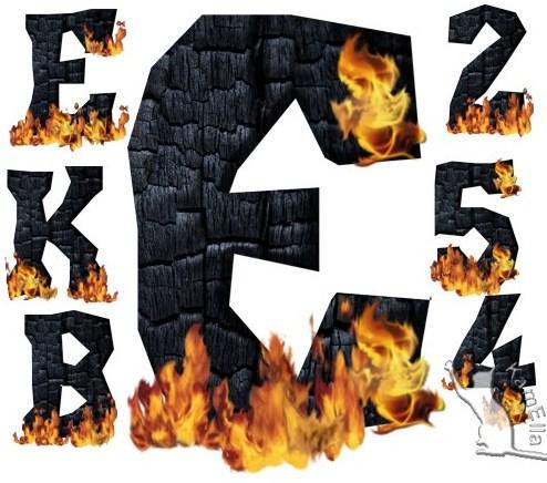 Український алфавіт у вогні