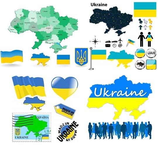 Українська карта і символіка
