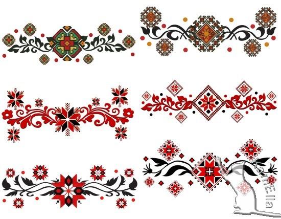 Декоративні українські елементи
