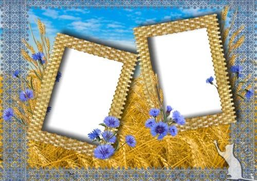 Рамка - Пшеничне поле