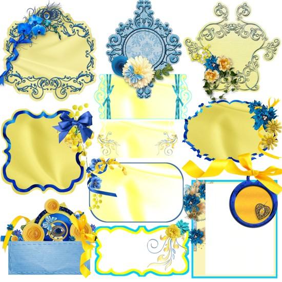 Жовто-блакитні карточки