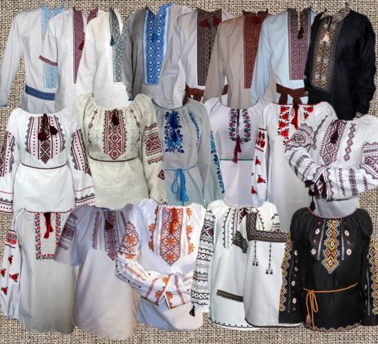 Українські вишиті сорочки