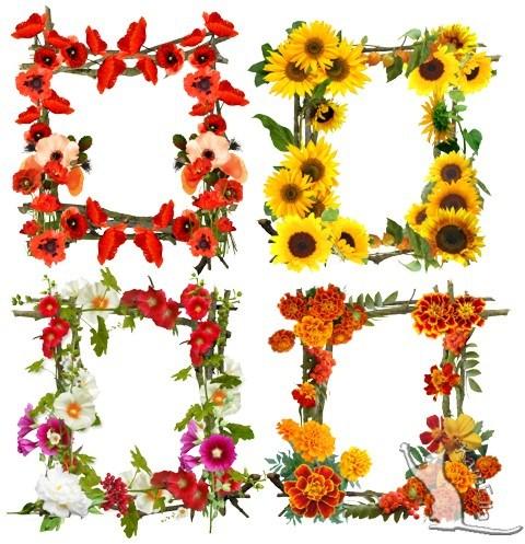 Рамки з квітами
