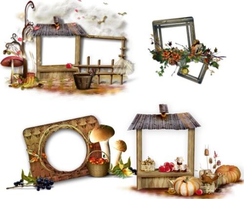Рамки для фото - Осіння казка