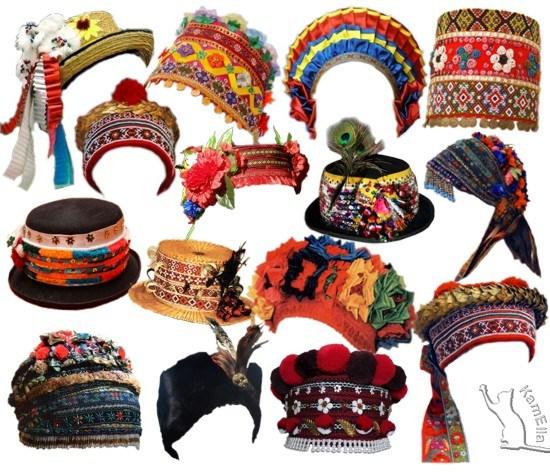 Традиційні головні убори України