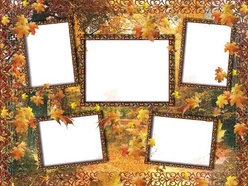 Рамка для фото - Осіння історія